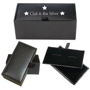 dárkové krabičky na manžetové knoflíčky s potiskem na manže