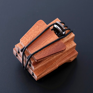 skládací dřevěné kravaty s potiskem na zakázku